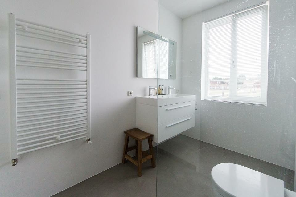 badkamer en keuken beal mortex - stuc ydee stucadoor arnhem, Badkamer
